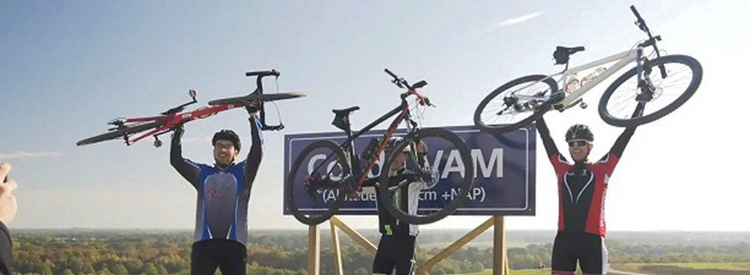 Afsluiting VAM-berg voor herstelwerkzaamheden wandel- en mountainbikeroute afdaling