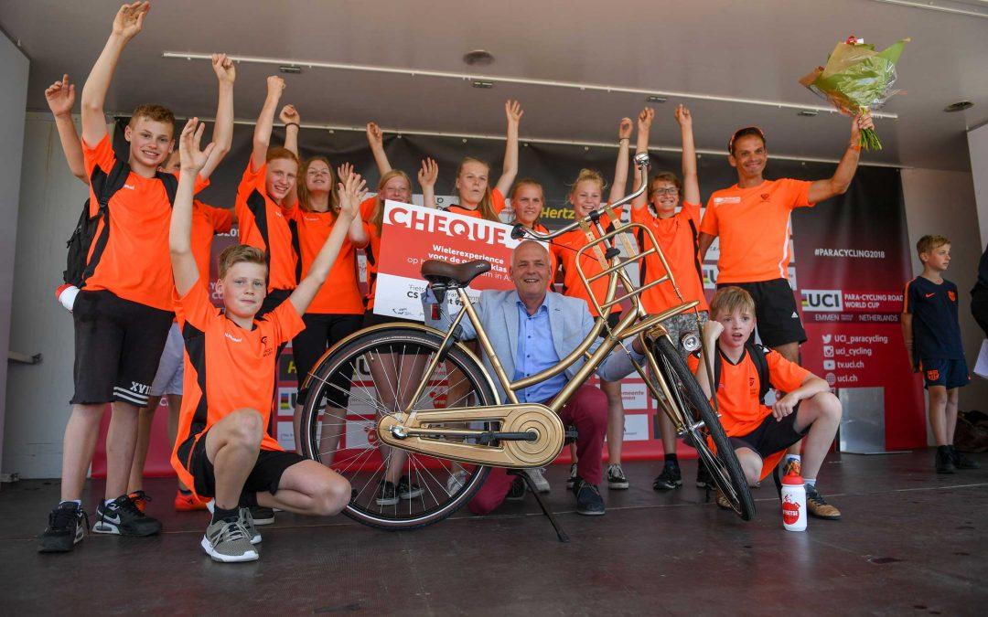 CS Vincent van Gogh 'Drentse fietsschool van 2017-2018'