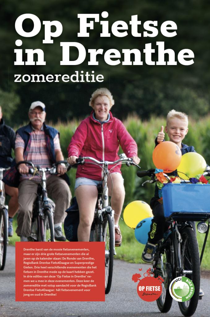 Op Fietse in Drenthe Zomer editie