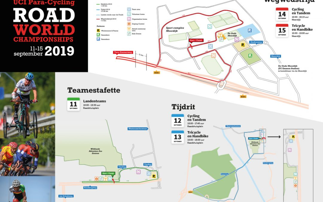 Wegwedstrijd UCI Para-Cycling en Side-events