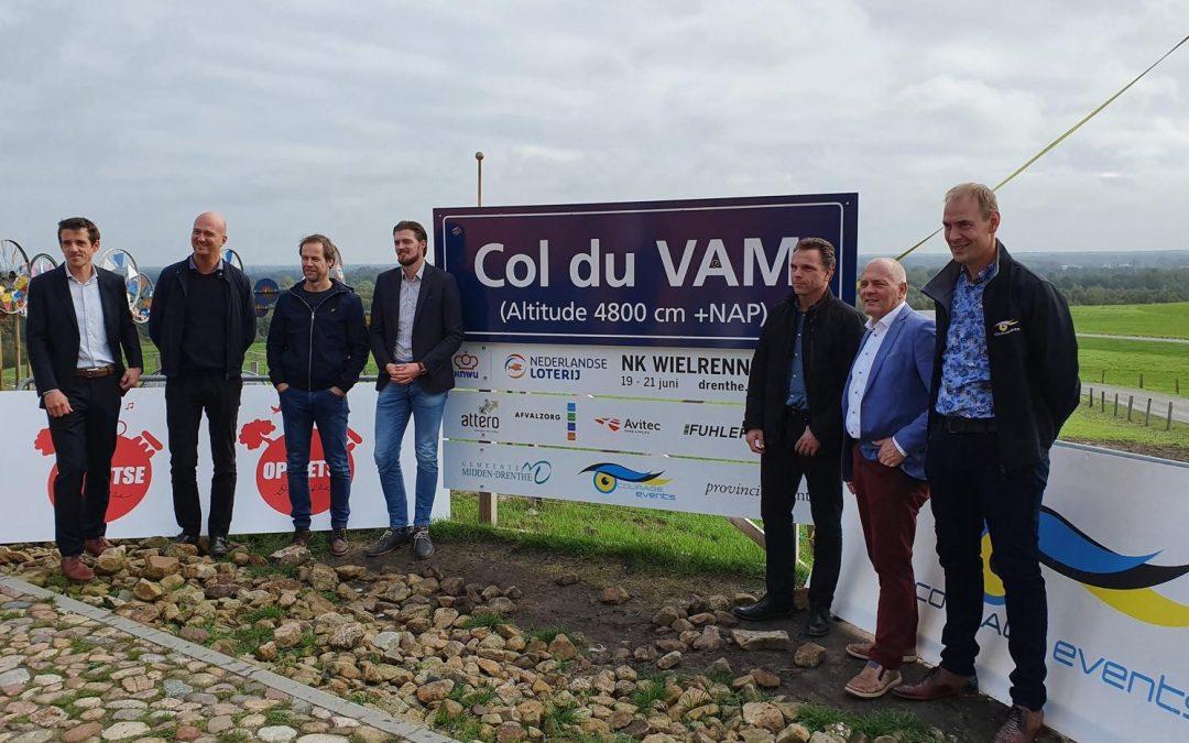 Drenthe gastheer van Nederlandse Loterij NK wielrennen 2021